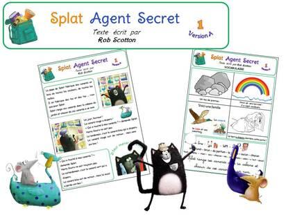 5ème période :  Splat Agent Secret
