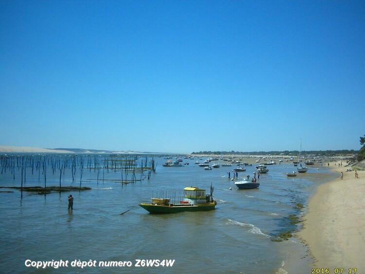 l'album vacances au Cap Ferret