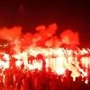 Mercredi 7 Août 2013 les supporteurs du MCA fêtent les 92 ans du club à El Kettani