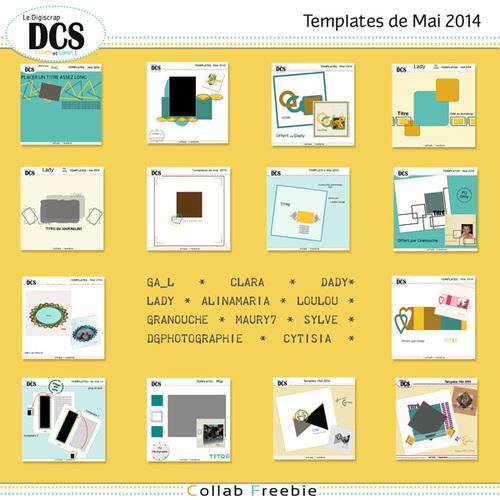 DCS et ses templates de Mai