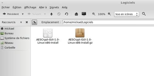 Chiffrer un fichier avec AES Crypt
