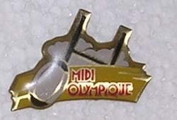 Pin's Midi Olympique (1)