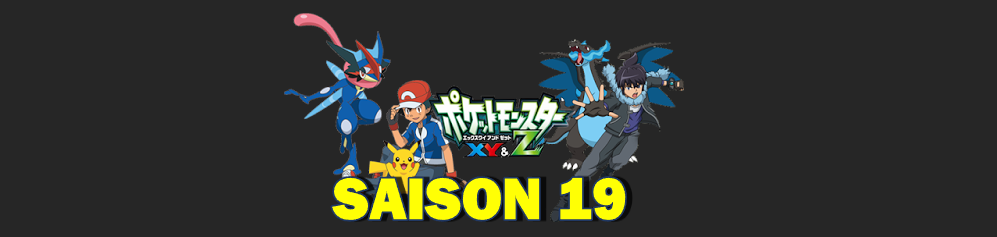 saison 19 pokemon bannière