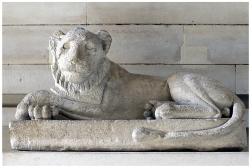 Le lion maniéré...