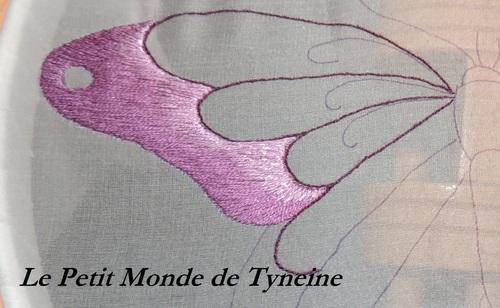 Robe aux Papillons - Belle époque - Inspiration Woerth / Butterflies Dress