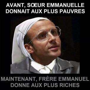 Frère Emmanuel Macron