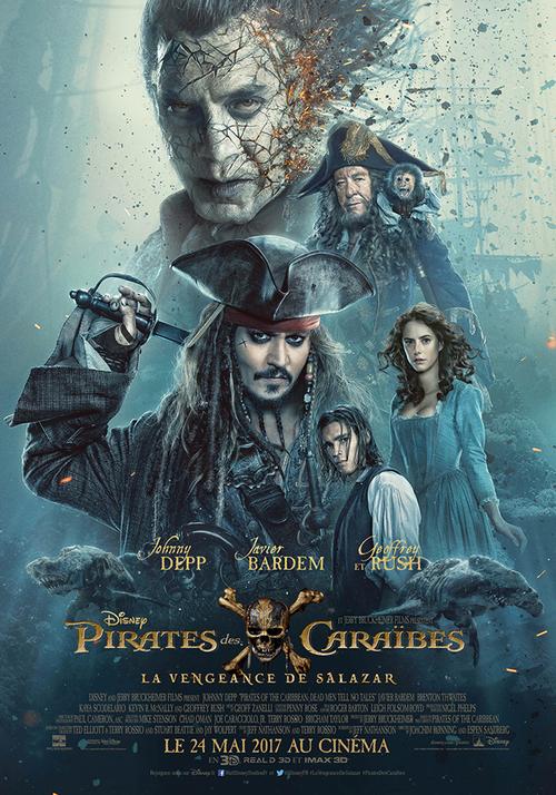 """Bonsoir a l'honneur : """" Pirates des Caraïbes : la Vengeance de Salazar """""""