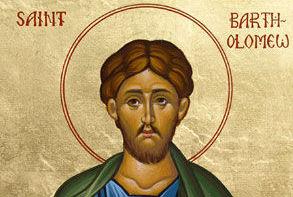 Neuvaine à l'apôtre saint Barthélemy - Etoile Notre Dame