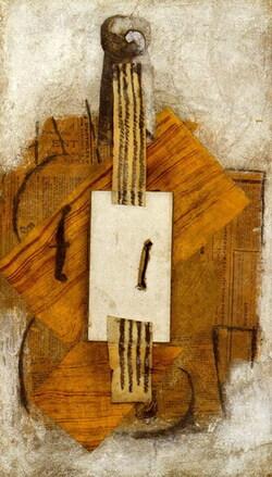 Séance art visuel à partir des violons de Picasso