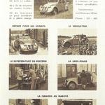 Publicité 2 CV Citroën - Septembre 1949