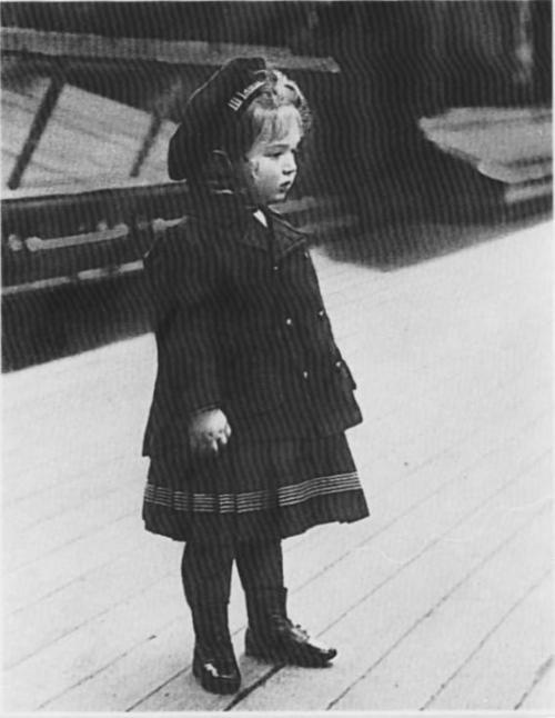 Tsarevich Alexei aboard the Standart: 1906.