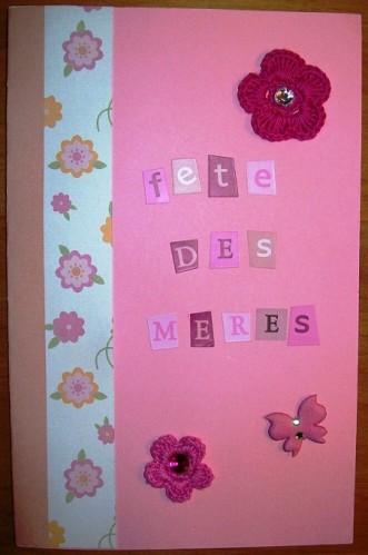 Carte 5 fête des mères - 2012