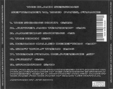 Live : Grant Lee Buffalo - Black Session - 10 Septembre 1993