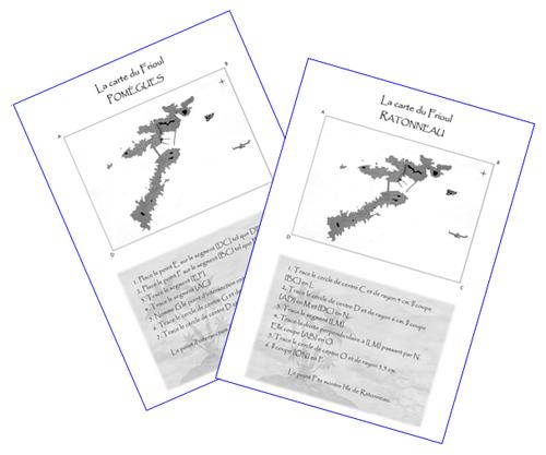 Géométrie : retrouver l'emplacement des îles