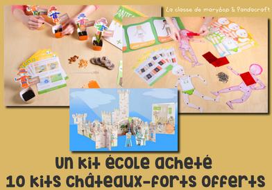 Les kits école pandacraft : du nouveau pour la rentrée :)