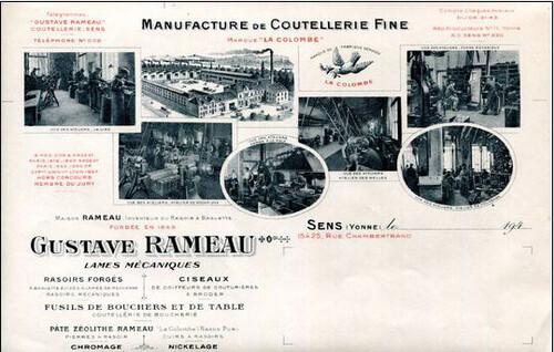 La coutellerie Rameau  Sens 89
