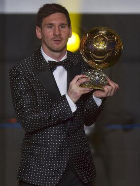 Le tapis rouge du ballon d'or
