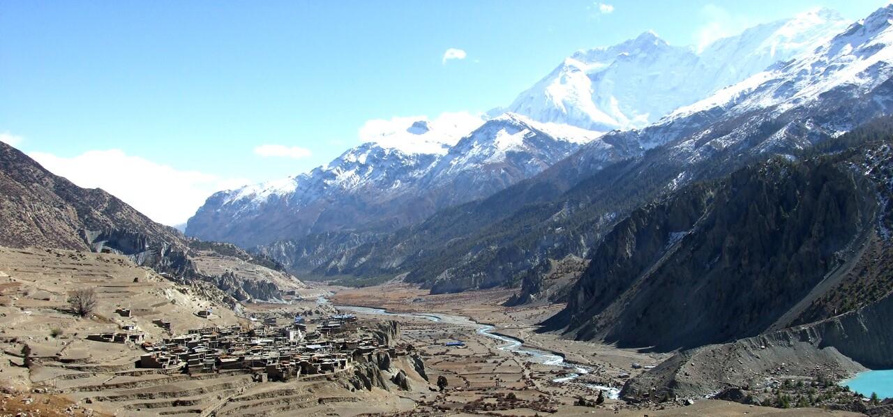 6-3 /Népal/ Vers le col du Thorong - Manang