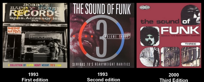 "Various Artists : CD "" The Sound Of Funk 3 "" Goldmine Soul Supply Records GSCD23 [ UK ]"
