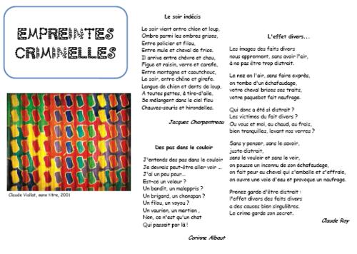 Un soir, un tiroir #3 : Poésie et arts visuels - Enquêtes criminelles
