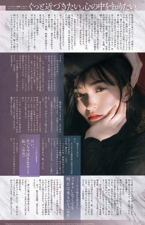 Magazine : ( [Big Comic Spirits] - 2019 / N°49 - Maho Yamaguchi Centric )
