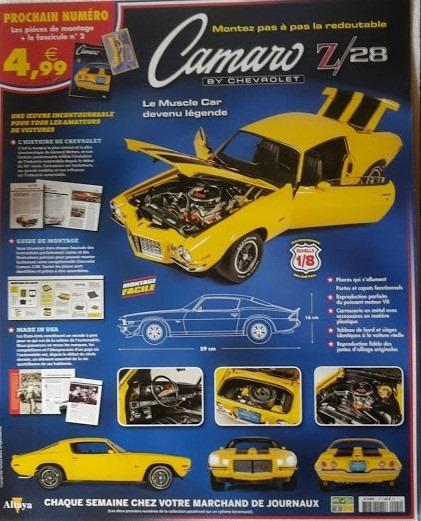 N° 1 Montez la Camaro Z28 by Chevrolet - Test