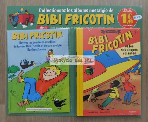 N° 1 BD Bibi Fricotin - Lancement
