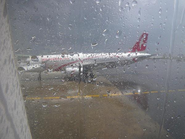 Vol Boa Vista-Paris (escale à Casablanca sous la pluie)