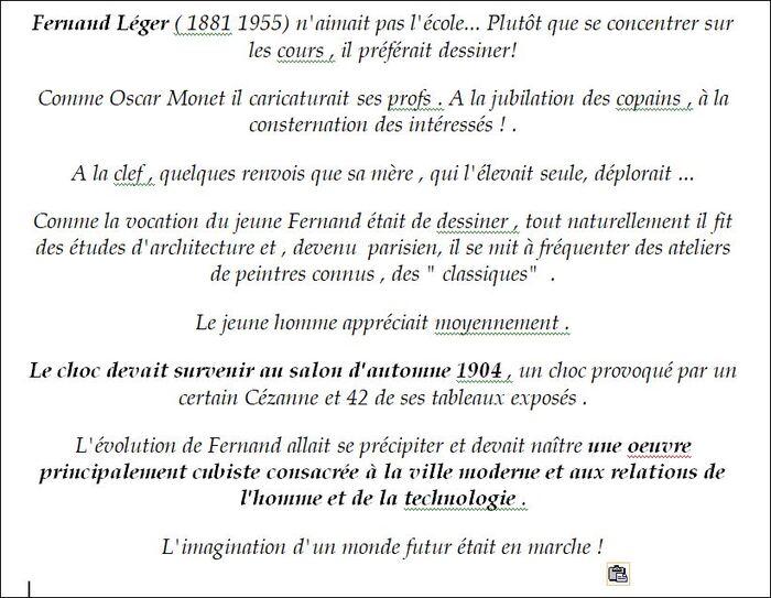Léger,le moderniste