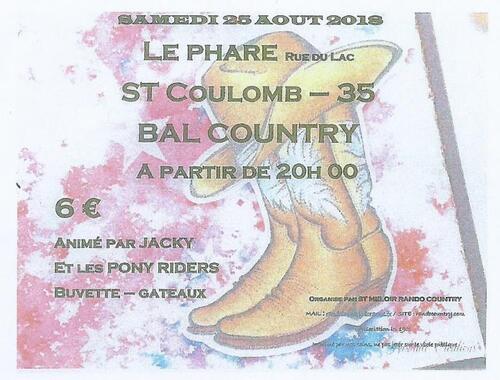 affiche st coulomb  ( 35  à 20 h  25-08-2018 )