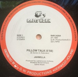 Jahmilla - Pillow Talk
