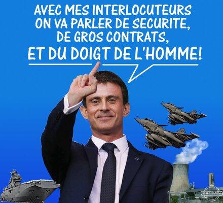 Valls au Moyen Orient