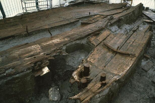 Épave du bateau Gyptis