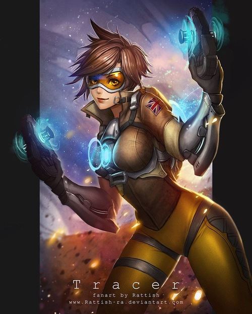 """Overwatch Perso """"Tracer"""""""
