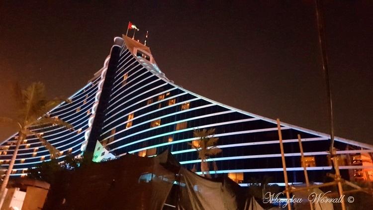 Dubaï : Jumeirah Beach Hôtel et Atlantis the Palm