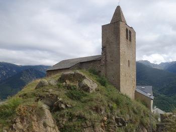 L'église  de Sauto