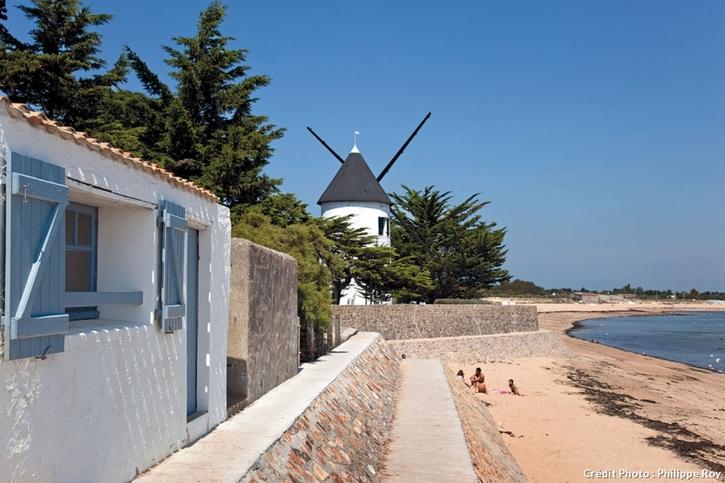 La Guérinière sur la côte Atlantique.