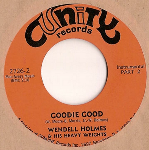 Wendell Holmes & His Heavy Weights : Goodie Good Parts 1 & 2