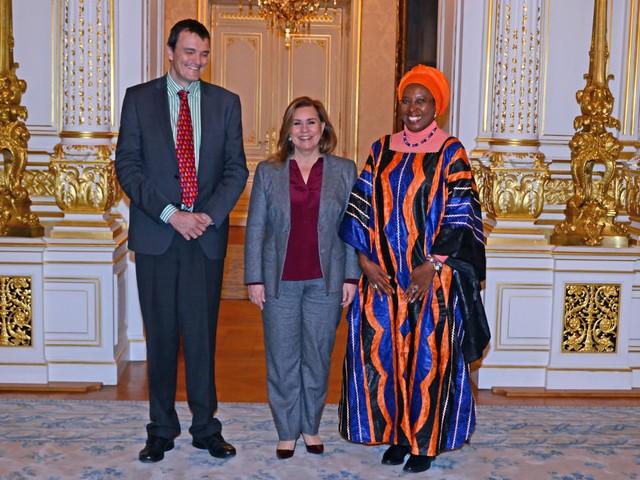 Audience de la Fondatrice de la Maison Shalom et de l'UNICEF au Burundi