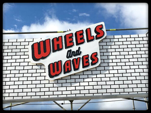 "Festival "" Wheels and Waves "" !"