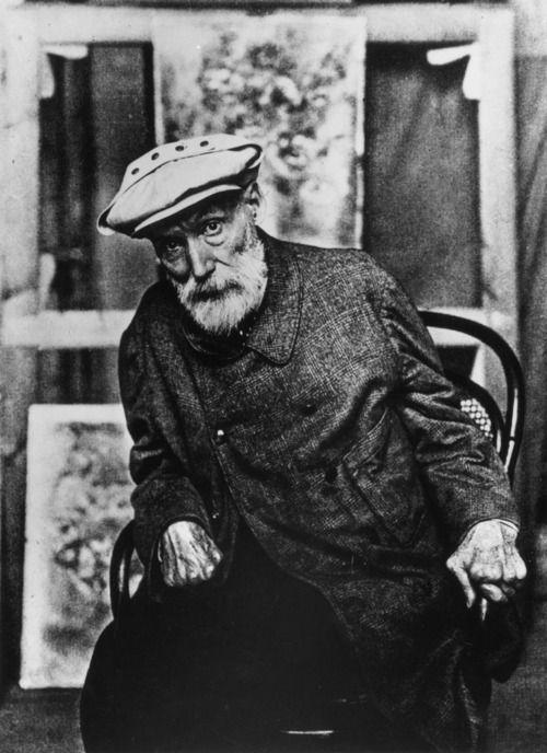 French Impressionist Pierre Auguste Renoir (1841-1919).