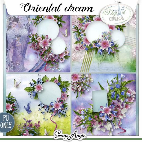 ORIENTAL DREAM by Scrap'Angie