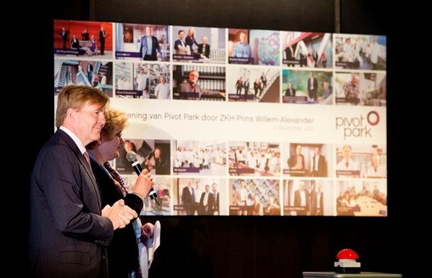 Willem Alexander inaugure