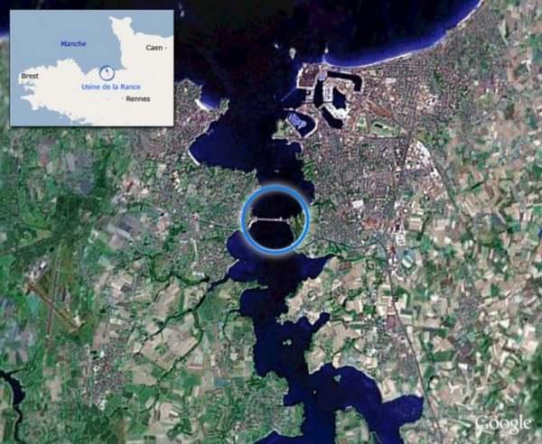 Le grand almanac de la France : L'usine marémotrice de la Rance