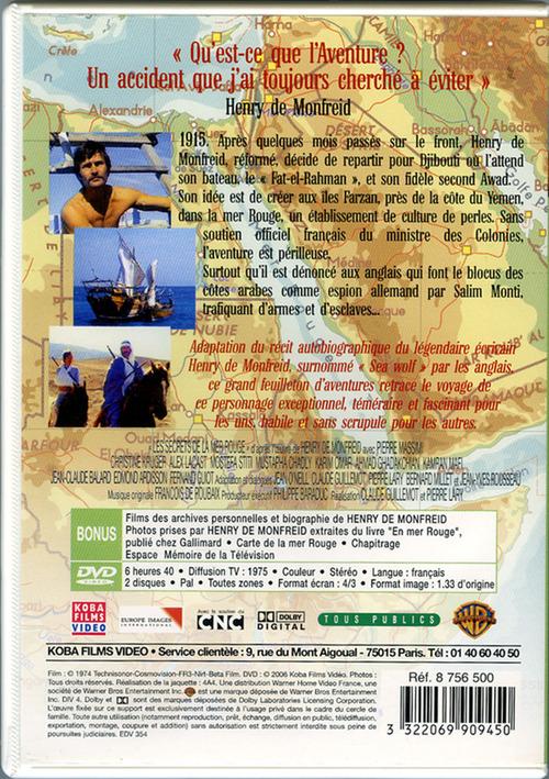 """DVD; """"Les secrets de la mer Rouge"""""""