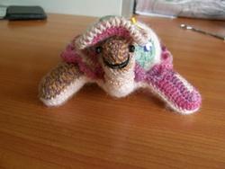 Une tortue au crochet