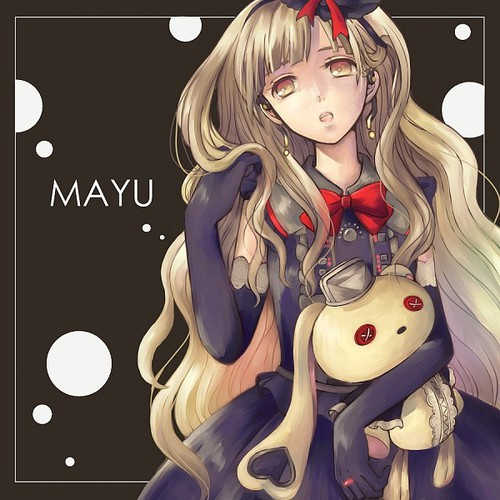 Image de anime girl, mayu, and vocaloid