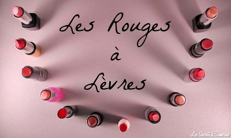 Les Rouges à Lèvres [Défi du Lundi]