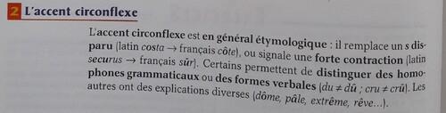 A / Le circonflexe
