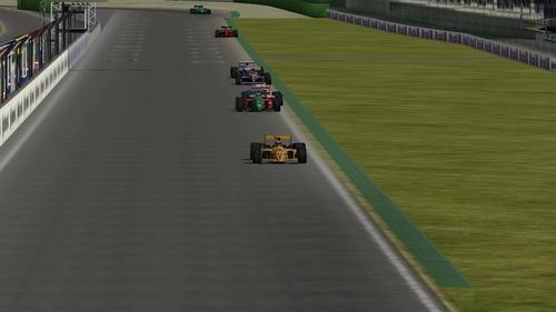 Lotus Camel Team 102 - Lamborghini 3512 3.5 V12